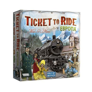 Настольная игра Билет на поезд: Европа (Ticket to Ride: Europe) 5