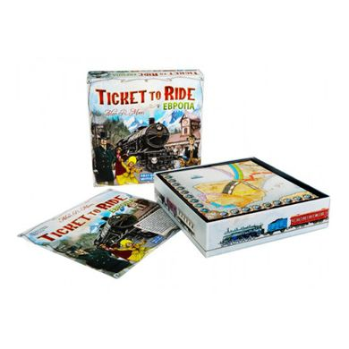 Настольная игра Билет на поезд: Европа (Ticket to Ride: Europe) 1