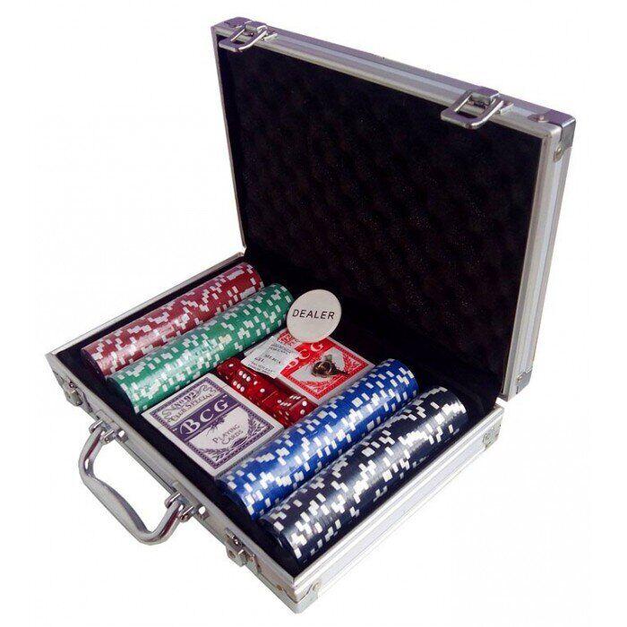 Покерный набор 200 фишек