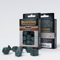 Набор кубиков Q Workshop Pathfinder Iron Gods