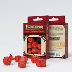 Набор кубиков Q Workshop Pathfinder Curse of crimson throne